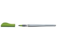 PILOT Parallel Pen B 3,8mm FP3-38-SS grün 2 parallel geführte Edelstahlplättchen regulieren präzise den Tintenfluss, Linien und Konturen werden gestochen scharf, durch die Verwendung von zwei oder mehreren Pens mit verschiedenen T