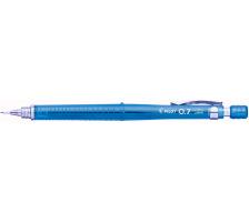 PILOT Druckbleistift 0,7mm H-327-L blau Mit Radierer , starre Minenführung , abnehmbarer Clip , 0,7 mm., Mit Radierer, Zubehör Nein, Härtegrad HB, Set Nein, Display Nein, Typ Druckbleistift, Minentyp 0.7mm, Mit Radiergummi Ja, Mine Nei
