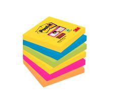 POST-IT Block Super Sticky Rio 6546SSRIO 5-farbig, 6x90 Blatt 76x76mm