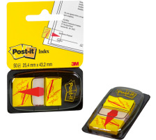 POST-IT Index Tabs 25,4x43,2mm 680-31 Sign here/50 Tabs