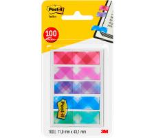 POST-IT Index Standard 43,2x11,9mm 684-PLD5 Karo 5x20 Blatt