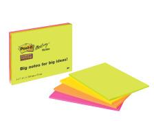 POST-IT Super Sticky Big Notes 4x45Bl. 6845-SSP 4 Farben ass. 149x200mm