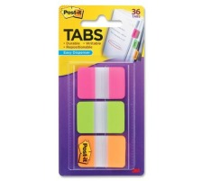 POST-IT Index Strong 25,4x38mm 686-PGOT 3-farbig/3x12 Tabs