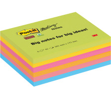 POST-IT Super Sticky Meeting 203x152mm 86456SSEU 6x45 Blatt
