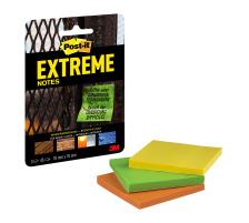 POST-IT Extreme Notes 76mmx76mm 33M3FRGE 3 Farben 3x45 Blatt