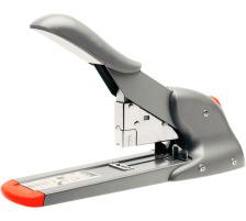 RAPID Blockhefter HD110 21080815 silber/orange 10-–110 Blatt Heftkapazität bis zu 110 Blatt 80 g/m² , Einschubtiefe bis 66 mm , verstell- und fixierbar mittels Heft-Anschlag (Klammern 9/8-14 und 23/8-15) , nur für geschlossene Heftunge