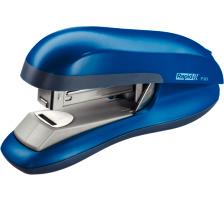 RAPID Bürohefter F30 Flat Clinch 23256501 blau 30 Blatt Flach-Hefter , aus hochglänzendem ABS-Kunststoff und -Gummi , für geschlossene Heftung , Einschubtiefe 55 mm , Klammern 24/6 und 26/6 , bis 30 Blatt 80 g/m²., Zubehör Ne