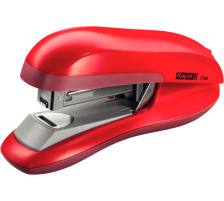 RAPID Bürohefter F30 Flat Clinch 23256502 rot 30 Blatt Flach-Hefter , aus hochglänzendem ABS-Kunststoff und -Gummi , für geschlossene Heftung , Einschubtiefe 55 mm , Klammern 24/6 und 26/6 , bis 30 Blatt 80 g/m²., Zubehör Nei