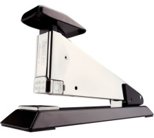 RAPID Heftapparat K2 classic 23305700 schwarz 50 Blatt Klassischer Ganzmetall-Tischhefter für starke Beanspruchung , für offene oder geschlossene Heftung , Einschubtiefe 105 mm (Klammern 24/6-8 und 26/6-8) bis 50 Blatt 80 g/m²., Robust