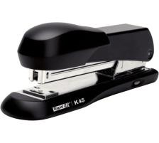 RAPID Heftapparat K45II 23888200 schwarz 20 Blatt Metall-Hefter , der eingebaute Klammernentferner lässt sich per Knopfdruck ausfahren , für geschlossene und offene Heftung (Tackern möglich) , Einschubtiefe 86 mm , bis 20 Blatt 80 g/m&