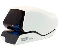 RAPID Elektrohefter 5025e 25095200 weiss 25 Blatt Mit einmaligem patentiertem Heftklammerkassettensystem , Heftleistung: 25 Blatt 80 g/m² , 1.500 mal heften mit einer Kassettenladung , mit Flachhefttechnologie, die die Papierstapelhöhe um 3