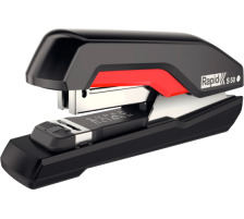 RAPID Heftapparat Supreme Omnipress 5000544 schwarz/rot, S50 HS 50 Blatt