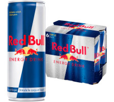 RED BULL Energy Drink 250ml 5762 6 Stück