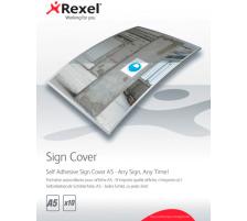 REXEL Selbstkl. Schilderfolie A5 2104250 10 Stück Erstellen Sie im Handumdrehen selbstklebende Schilder , verschweissen Sie Ihre Vorlage mit der selbstklebenden Schilderfolie im SignMaker zum gewünschten Schild und lösen nur noch die Schutzfolie von