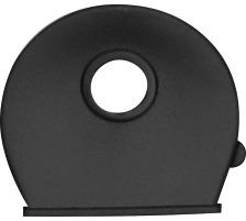 RIEFFEL Schlüsselkappen 8009FS SC schwarz 100 Stück Für Schlüssel mit rundem Kopf , Durchmesser: 25 mm., Zubehör Ja, Material Kunststoff, Anzahl Schlüssel 1, Farbe(Filter) schwarz