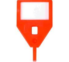 RIEFFEL Schlüssel-Anhänger KyStor KR-A ORAN orange Aus Kunststoff , ohne Etiketten., VISU, orange, Zubehör Ja, Material Kunststoff, Anzahl Schlüssel 1, Farbe(Filter) orange