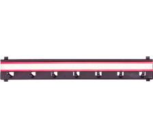 RIEFFEL Schlüsselleiste KyStor KR-L-7 7 Haken Hakenleiste zu KyStor Schlüsselkasten., Zum Einhängen, Zubehör Ja, Anzahl Schlüssel 7, Farbe(Filter) schwarz