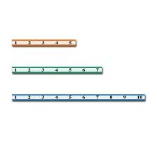 RIEFFEL Anhängenummern KyStor KR-LS 301 Satz 301 - 400 Selbstklebend., Leistenstreifen selbstklebend, Zubehör Ja, Material Kunststoff, Anzahl Schlüssel 1, Farbe(Filter) farbig assortiert