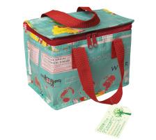 ROOST Design Lunch Cool Bag 24489 21x12x16cm avec motif Welt, Type (Saison) Sommer, Dimensions 21 x 12 x 16cm, Type Tasche