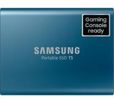 SAMSUNG SSD Portable T5 500GB MU-PA500B USB 3.1 Gen. 2 blue