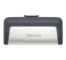 SANDISK Ultra Dual Drive 256GB SDDDC2-256G-G46 USB Type-CTM Das Flash-Laufwerk für USB Type-C Geräte, Anschluss USB 3.1 Typ C/USB Typ A, Passwortschutz Nein, Kapazität 256 GBGB, Datenübertragung (Lesen) 150 - 199.9 MB/s, Typ Standard, Bauform Aufschi
