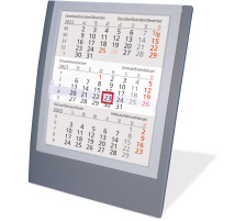 SATUREX Tischkalender 3-Mt. 5039-AS d/e/f/i/sp/nl 13x17,5cm, 2021