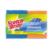 SCOTCH-BR Universal Schwamm SB617/2 blau/orange 2 Stück