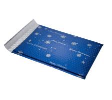 SIGEL Weihnachts-Luftpolstertaschen GB106/W blau, 335x250x19mm 3 Stück