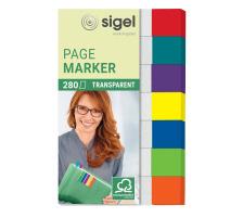 SIGEL Notes 12x50mm HN677 7 Farben ass. 280 Blatt