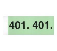 SIMPLEX Garderobenblock 1-100 13074 grün 100 Blatt