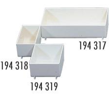 STYRO Schubladen-Einsatz weiss 01-717.05 161×65×47