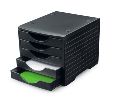STYRO Styrogreenbox schwarz 275-8420. 5 Fächer schwarz