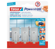 TESA Powerstrips Haken S 575400001 chrom