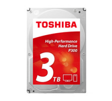 TOSHIBA HDD P300 High Performance 3TB HDWD130UZ internal, SATA 3.5 inch BULK