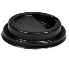 WEBSTAR Deckel zu Kaffeebecher 25580 schwarz, PS, für 2dl 100 Stück