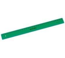 WESTCOTT Kunststofflineal 30cm E-1017200 cm Skala Länge 30cm, Material Kunststoff, Beidseitig Nein, Rutschfest Nein, Tuschkante Nein, Typ Massstab, Masseinheiten mm, Farbe grün