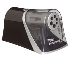 WESTCOTT Spitzmaschine schwarz/silber E-1550900 iPoint Evolution Axis