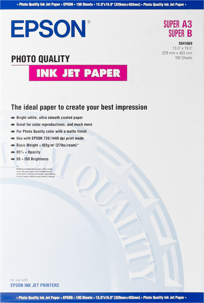 Large Format Papier