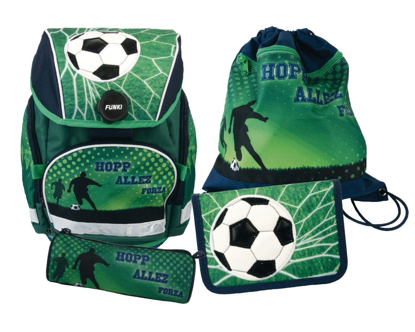 FUNKI Joy-Bag Set, 4 pcs. 6011.509 Soccer