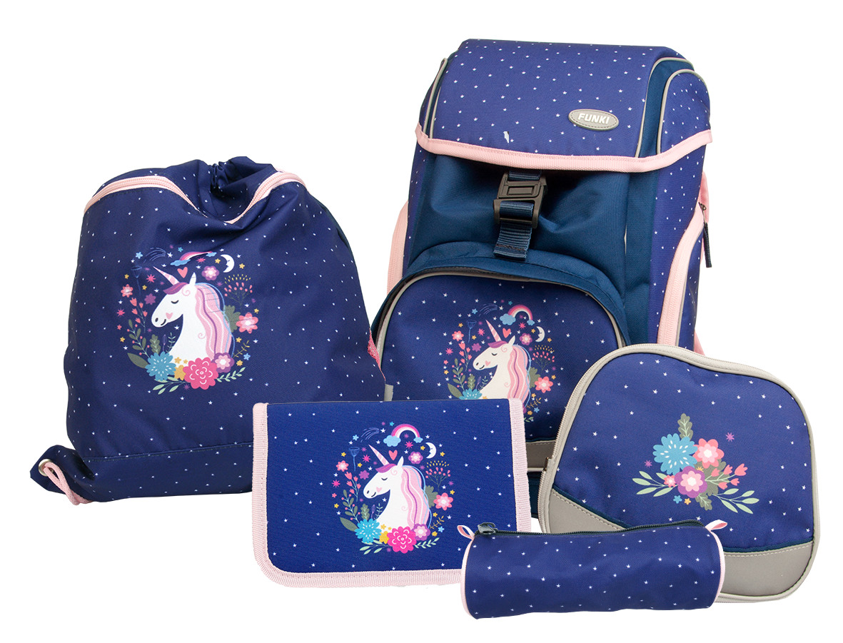 FUNKI Flexy-Bag Set 6040.601 Unicorn, 5 pcs.