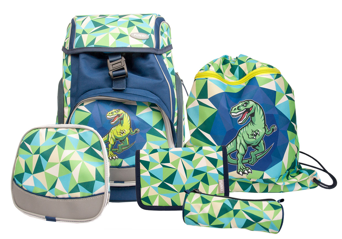 FUNKI Flexy-Bag Set 6040.603 Dinosaur, 5 pcs.