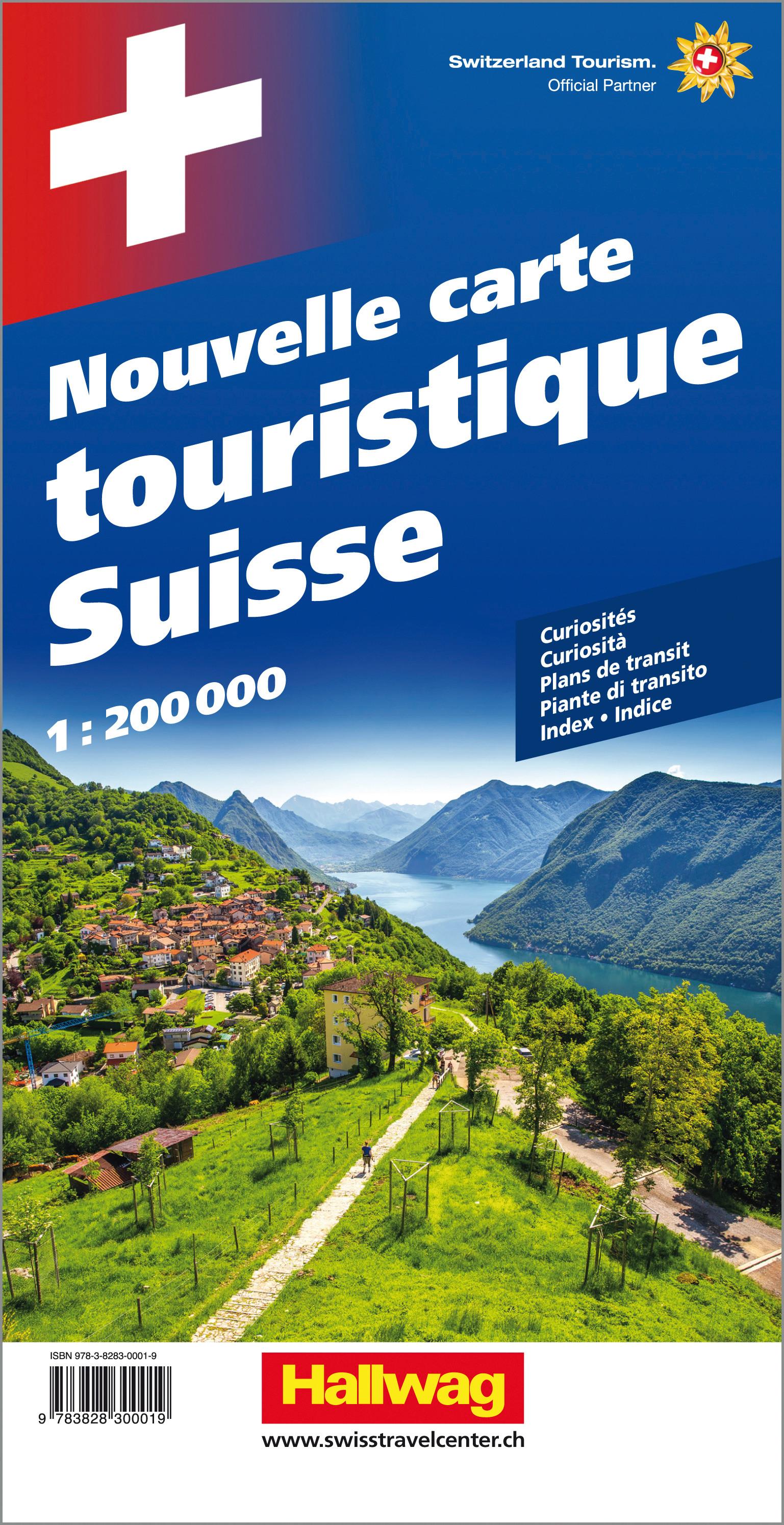Schweiz Neue Reisekarte Strassenkarte 1:200 000 200000