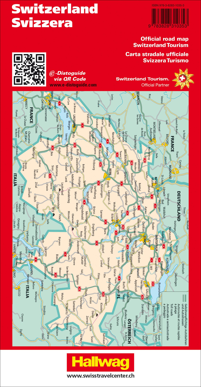 Schweiz 2021 Strassenkarte 1:303 000 303000