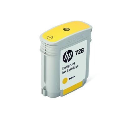 HP F9J61A Tinte yellow