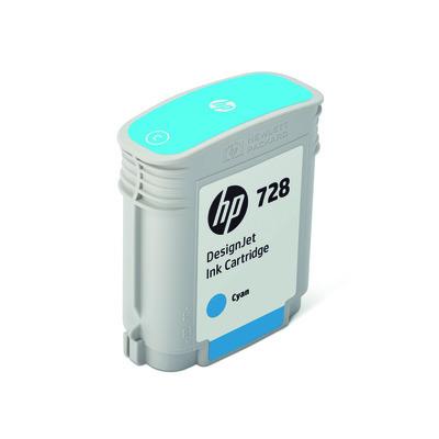 HP F9J63A Tinte cyan