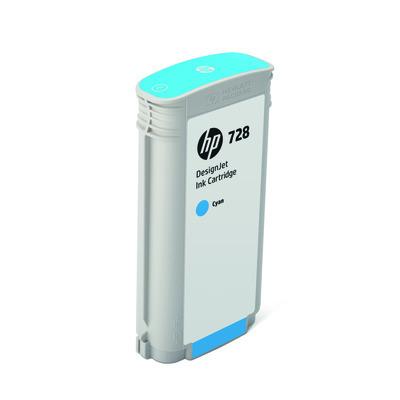 HP F9J67A Tinte cyan