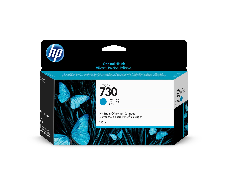 HP P2V62A Tinte cyan