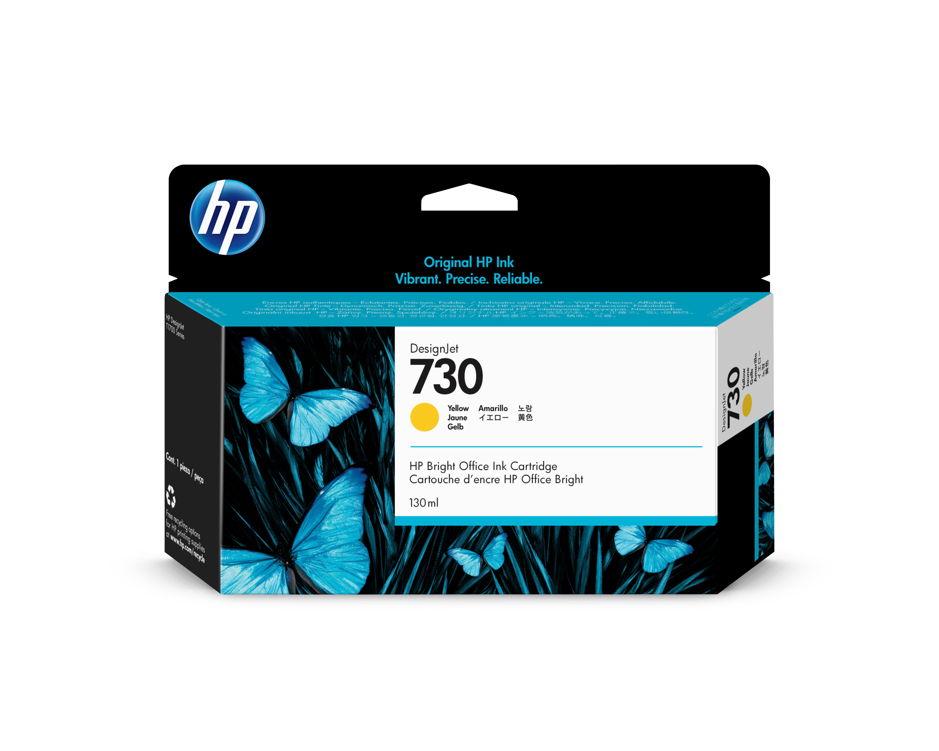 HP P2V64A Tinte yellow
