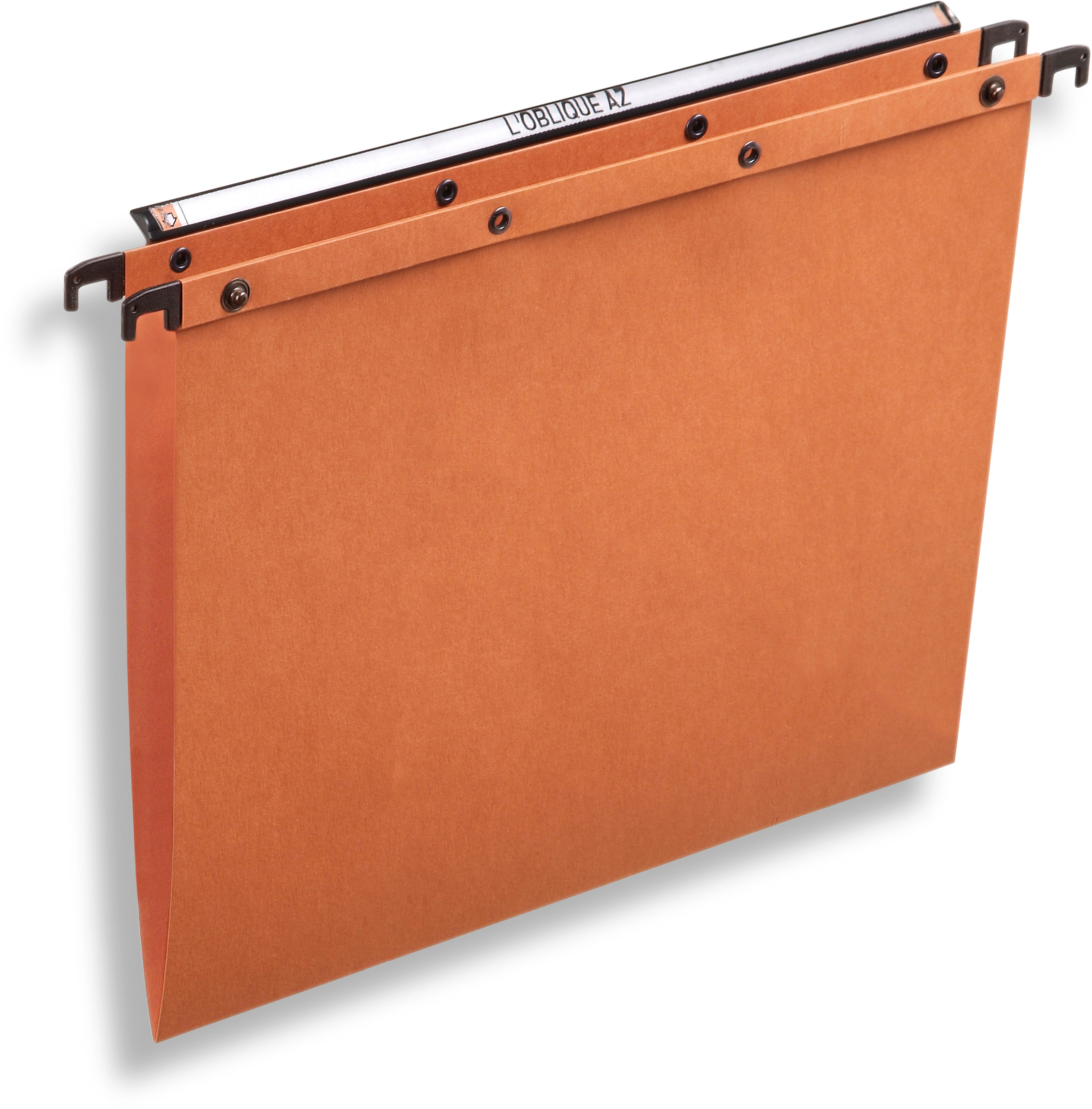 L\'OBLIQUE Hängemappe A4 AZO-V orange