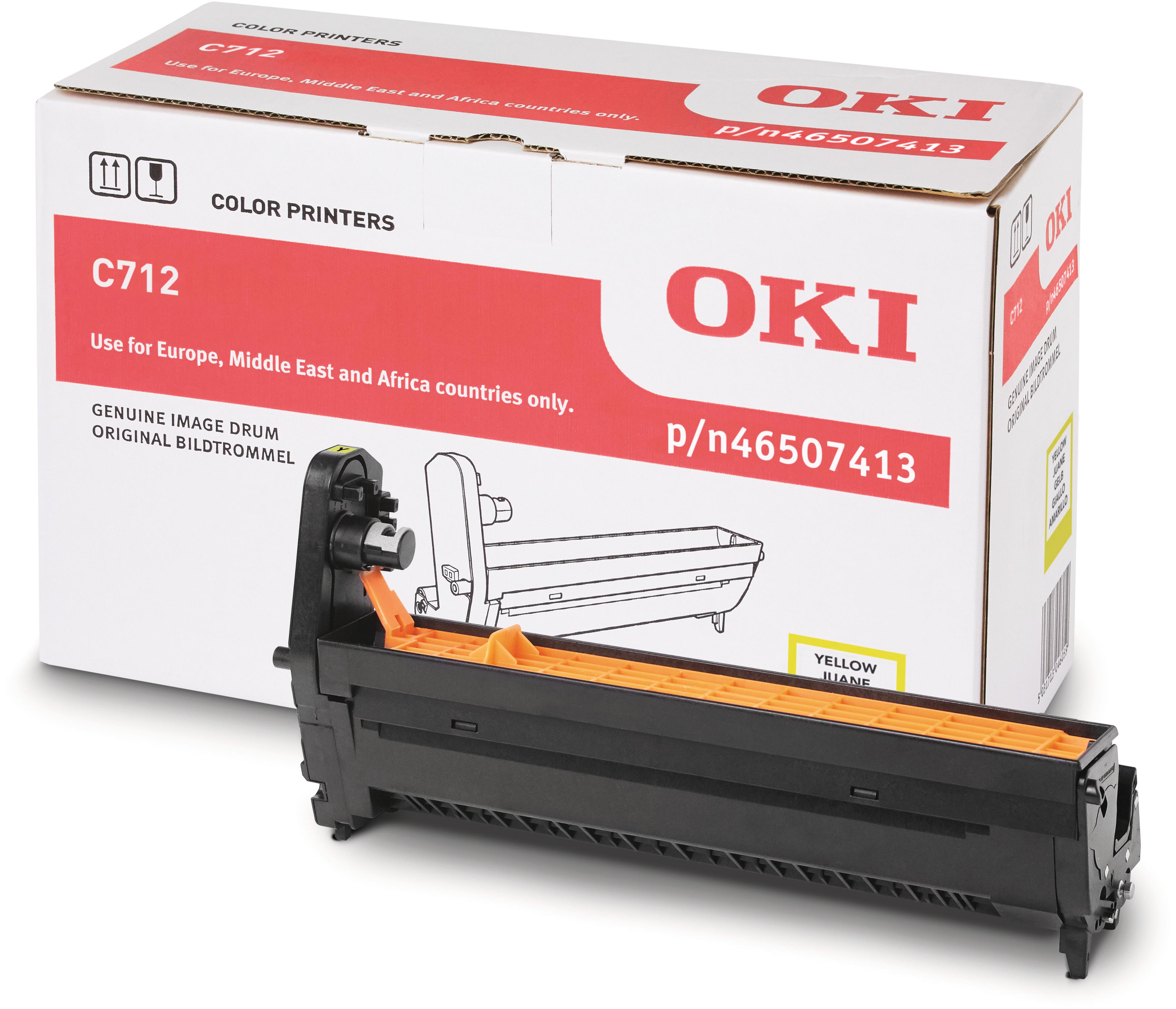 OKI 46507413 Drum yellow